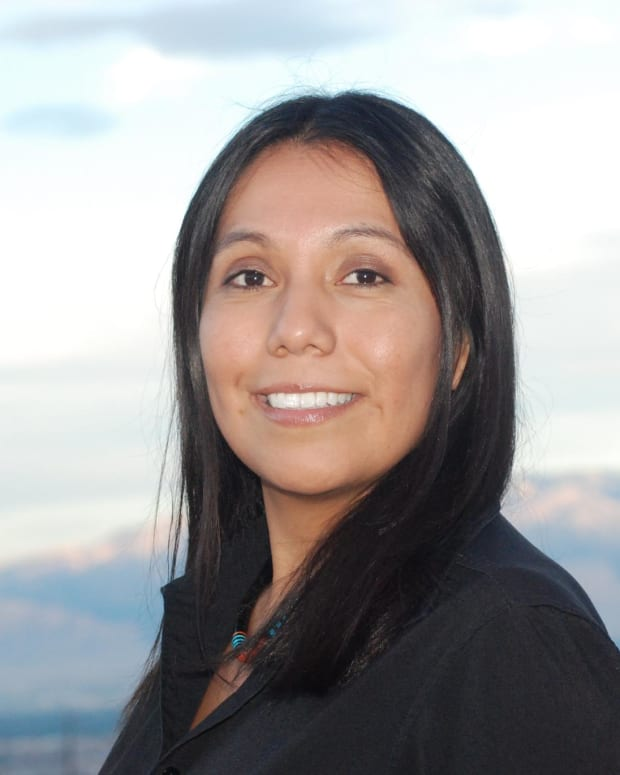 Pictured: Georgene Louis, Acoma Pueblo, Democratic New Mexico State Representative for the 26th District.