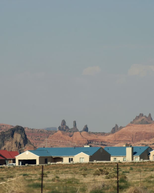 Tribes in Arizona stand to get $88 million in housing block grant funding, part of a $450 million boost to tribal housing programs that was included in the American Rescue Plan. The Navajo Nation, shown above, will get an additional $49.8 million, the most of any tribe in the nation. (Photo by Quinn Dombrowski/Creative Commons)