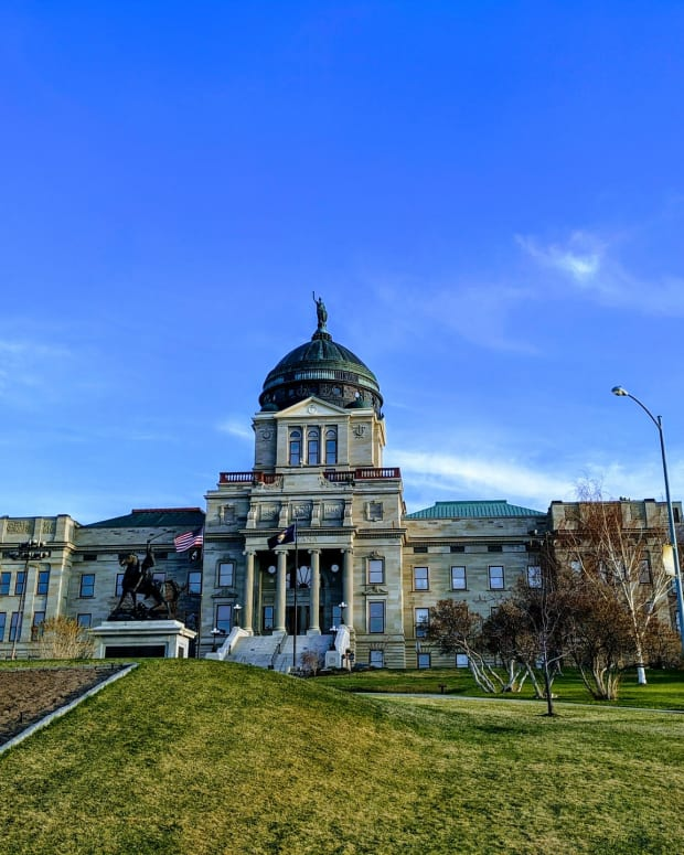 Pictured: Montana State Capitol, Helena.