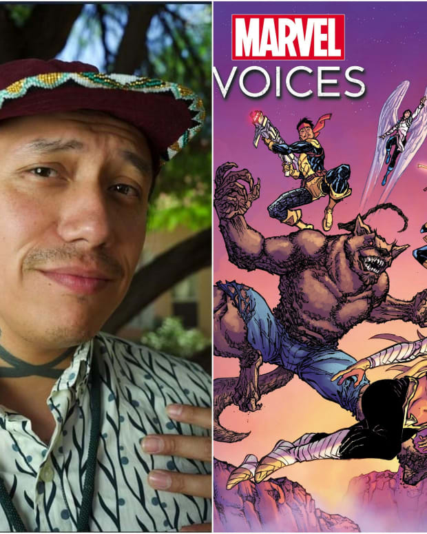Bobby Wilson and Steven Paul Judd are two of the writers for the upcoming Marvel's Voices Heritage issue #1