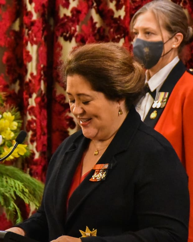 Cindy Kiro is New Zealand's new governor-general. (Photo courtesy of Governor-General of New Zealand Facebook)