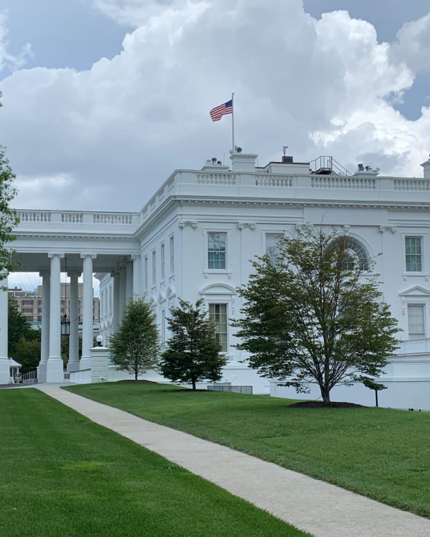 White House in Washington, D.C. (Photo by Jourdan Bennett-Begaye, Indian Country Today, File)