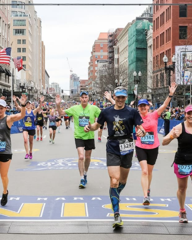 Boston Marathon, 2017. (Photo courtesy of Boston Marathon Twitter page)