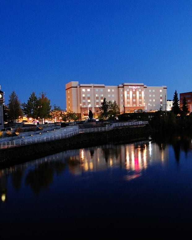 Pictured: Downtown Fairbanks,, Alaska in 2009.