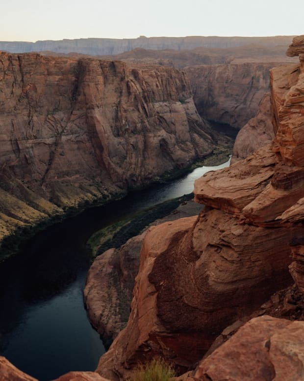 Pictured: Horseshoe Bend, Arizona.