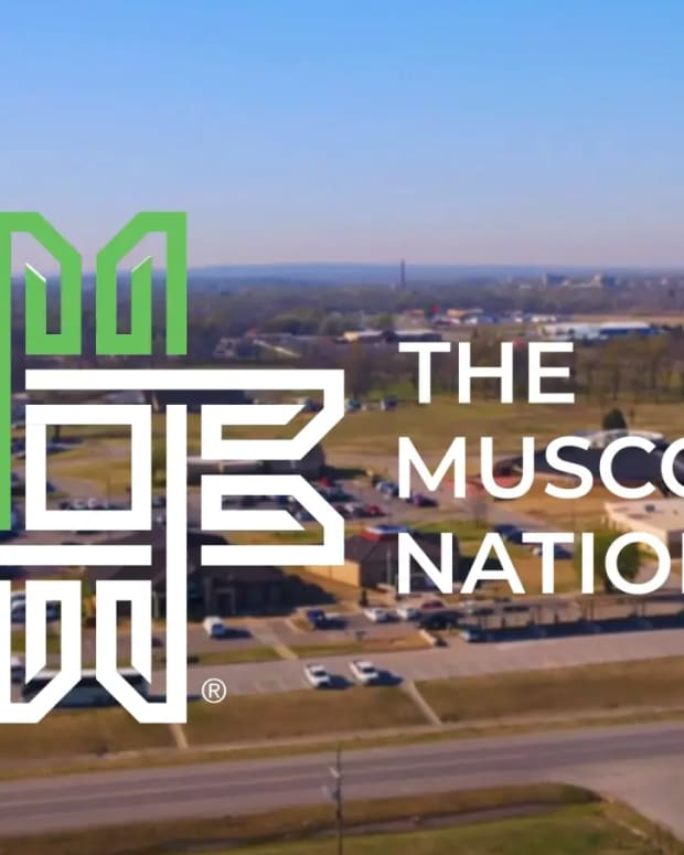 Muscogee Nation logo. (Screengrab, Muscogee Nation)
