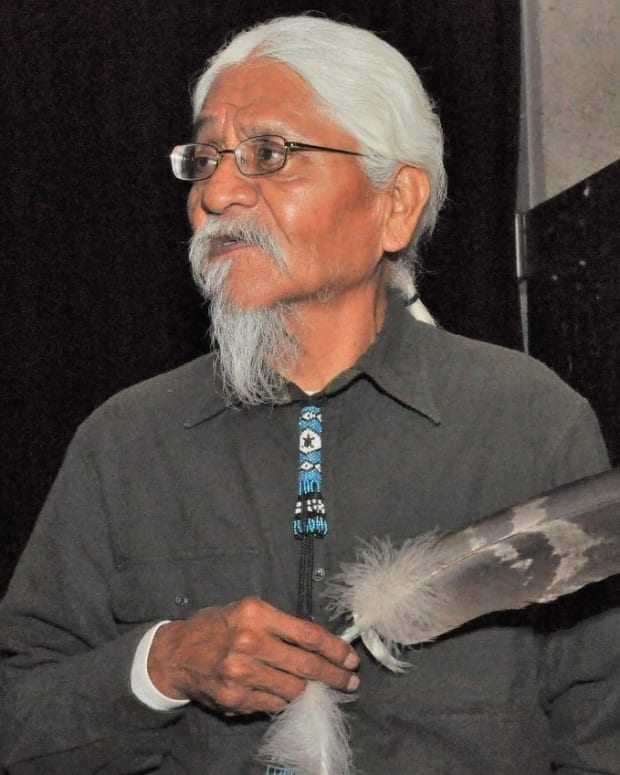 Pictured: The late Havasupai tribal elder and former chairman Rex Tilousi, who passed away peacefully on June 19, 2021.