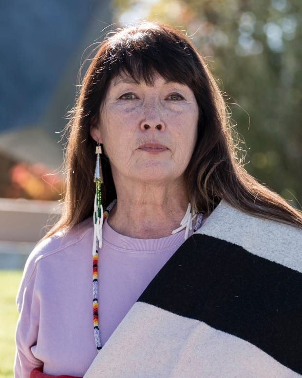 Charlene Teters, Spokane, is a professor emeritus at the Institute of American Indian Arts. (Photo courtesy of Teters)