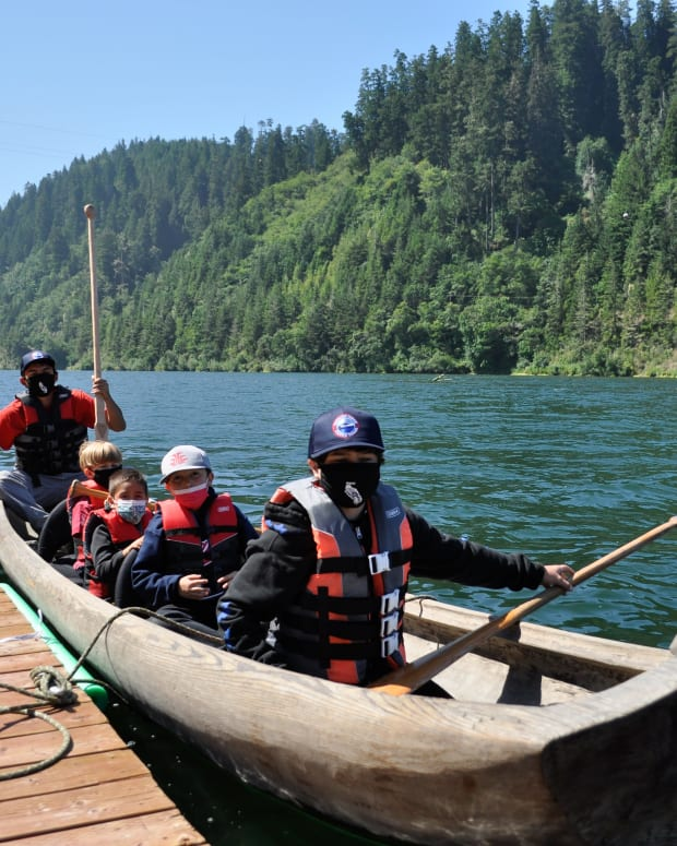 Klamath Water Protectors Youth Camp and Summer Projects Blend Water Advocacy and Tribal Traditions