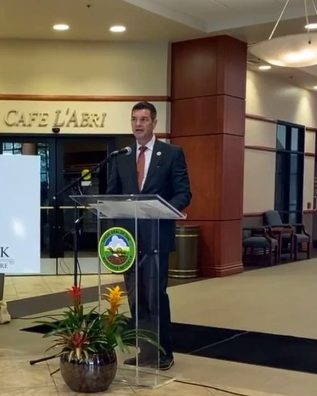 Pictured: Muscogee Health unveils new name of former Cancer Treatment Centers of America in Tulsa.