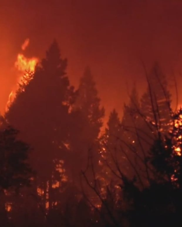 Nearly 5,000 people were evacuated due to wildfires in the British Columbia interior this summer. (Photo by APTN National News)