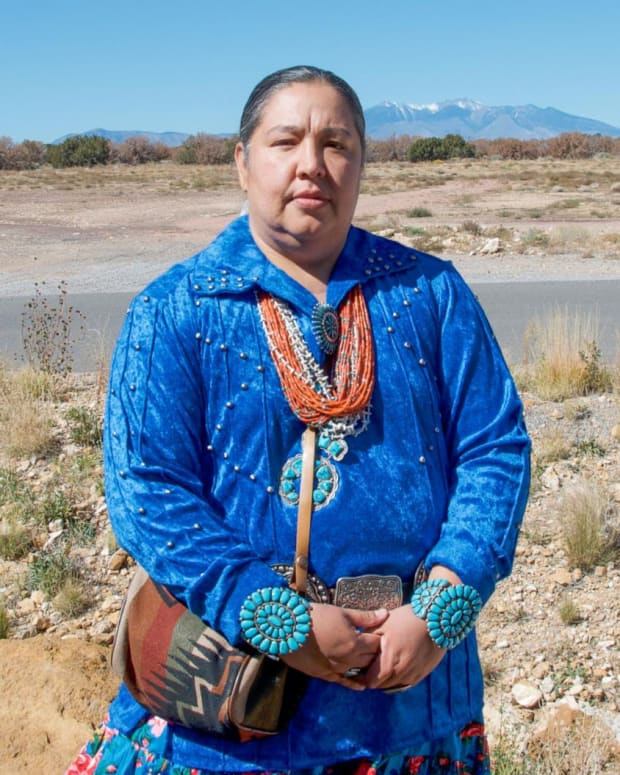 Pictured: Navajo Nation Council Delegate Amber Kanazbah Crotty.