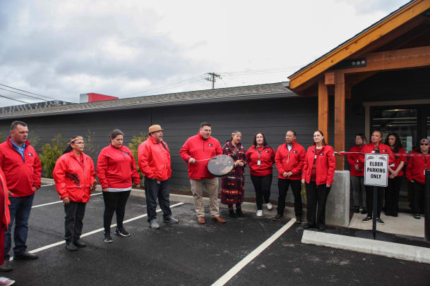 420 is the grand opening of Commencement Bay Cannabis in Tacoma Washington, the Puyallup tribes' second store (1)