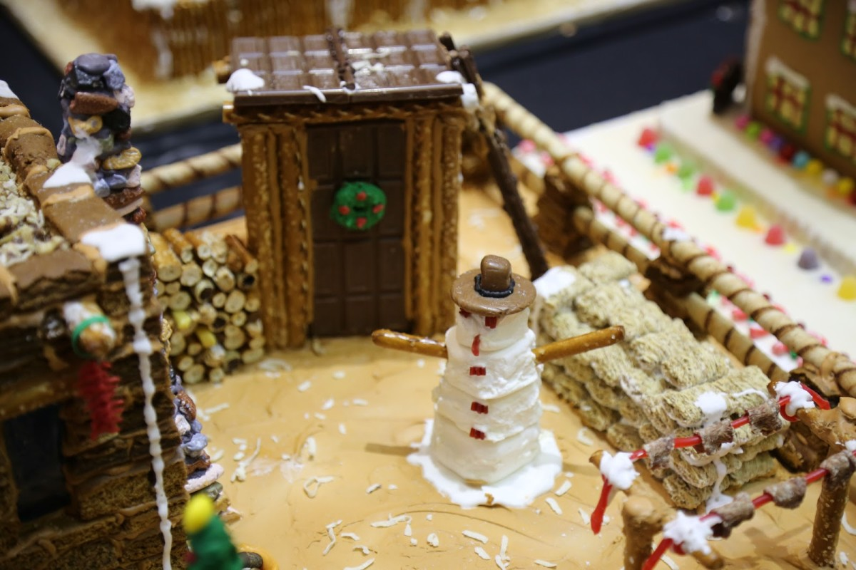 Pueblo Gingerbread House Contest submission (courtesy IPCC)