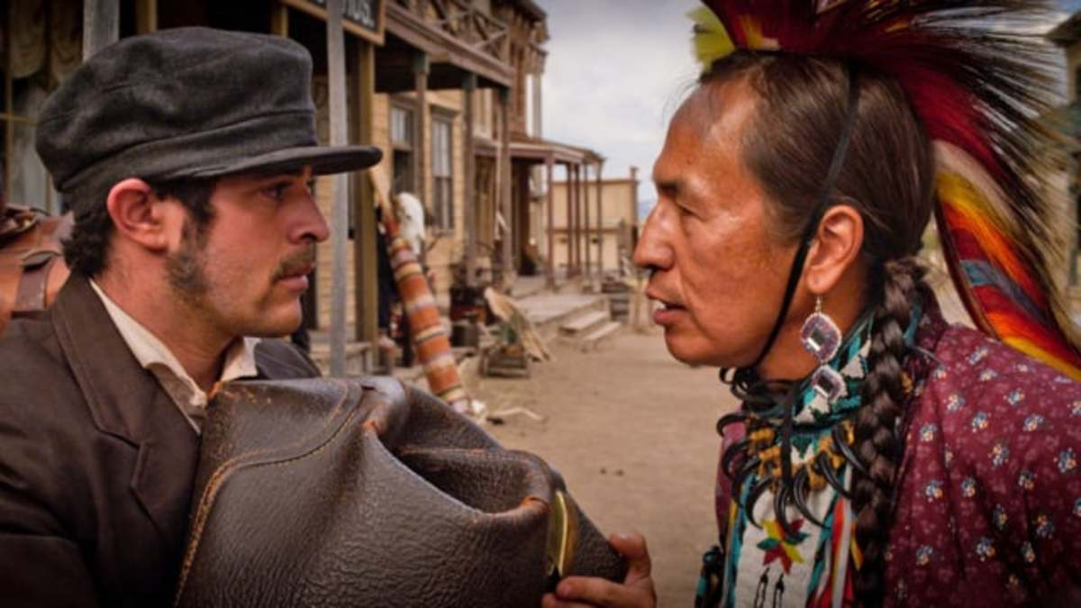 A still from the Moses on the Mesa trailer