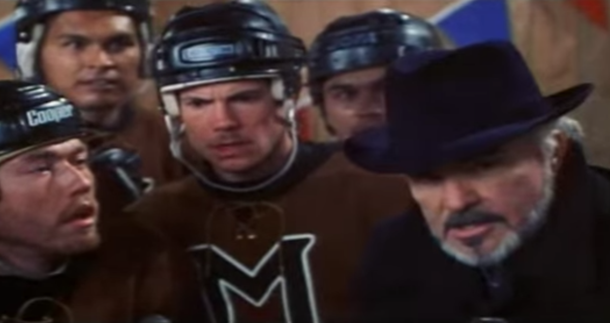 Adam Beach had a supporting role in Mystery, Alaska, which starred Burt Reynolds and Russell Crowe. YouTube Screenshot