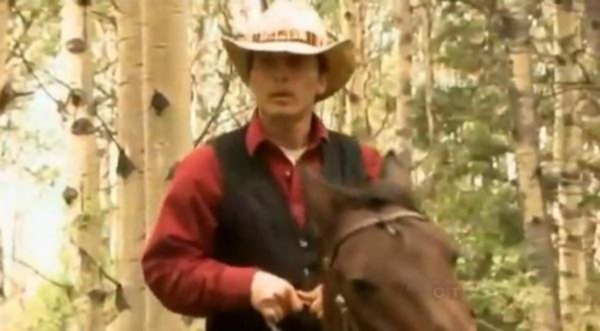 Still of Curtis Hallock from Mantracker, a reality show. The unarmed Hallock was wounded by police during a traffic stop upon suspicion of impaired driving, according to news reports.