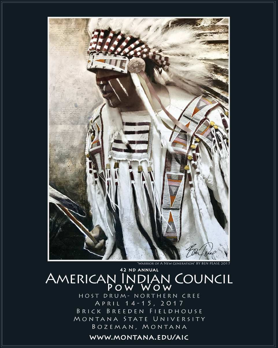 ICMN's featured weekly pow wow is the Montana State University 42nd Annual American Indian Council Pow Wow which takes place in Bozeman, Montana on April 14th and 15th.