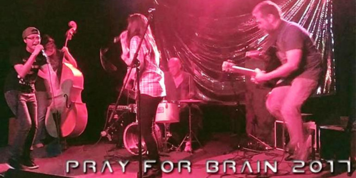 Pray for Brain is a featured band at the IAIA Musical Festival. Courtesy image