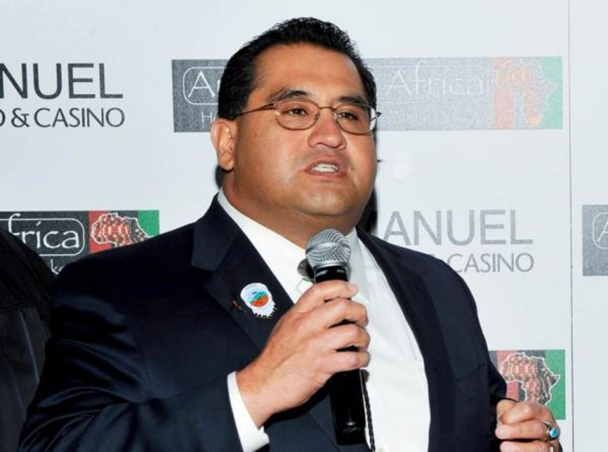 California Assembly member James C. Ramos is a member of the San Manuel Band of Mission Indians and the first Native American elected to the state's legislature. (Vince Bucci / AP Images for San Manuel)