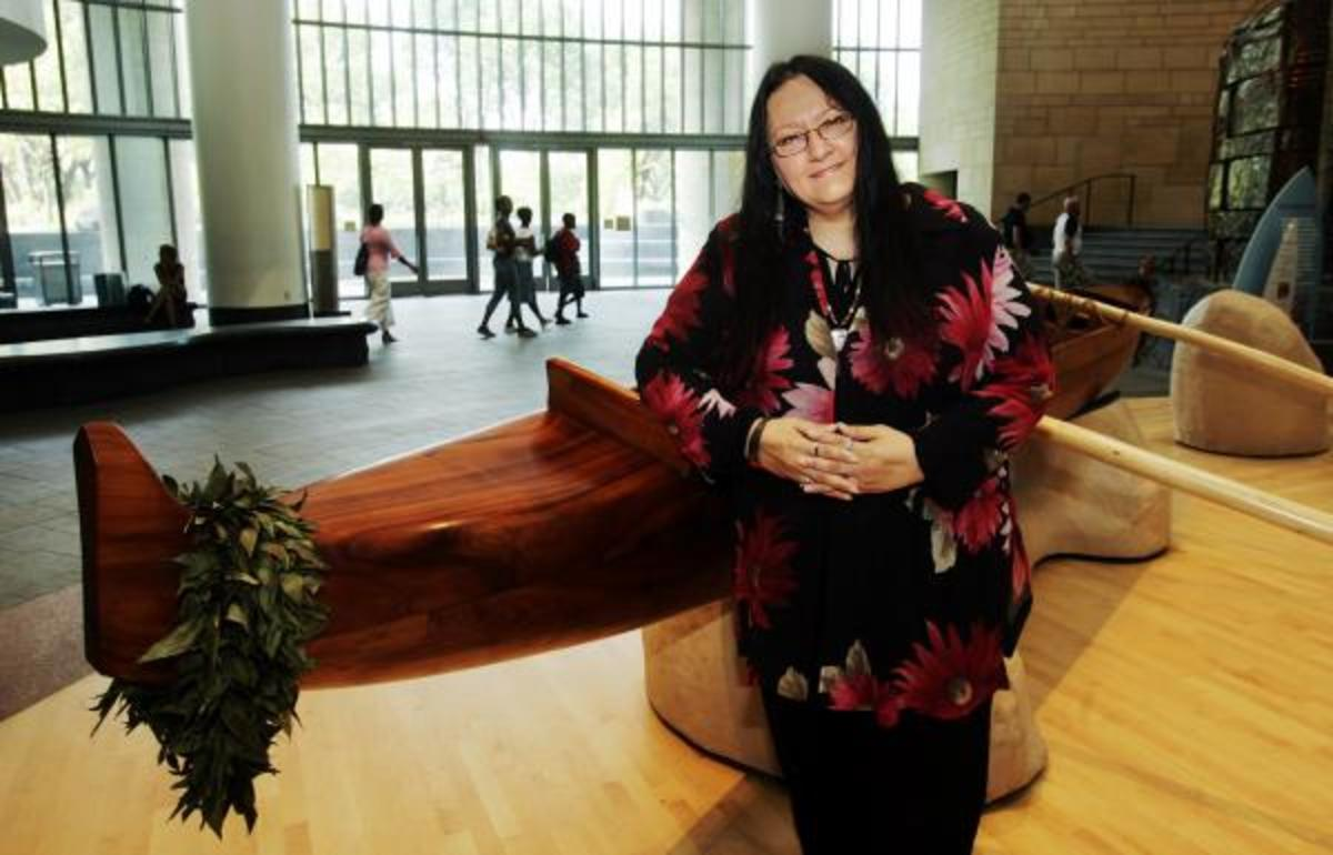Suzan Shown Harjo, Cheyenne and Hodulgee Muscogee, has been fighting for Native justice for decades.
