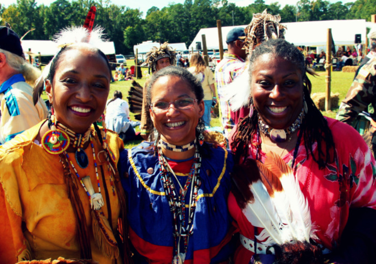 From the Nottoway 2013 pow wow. There are several Black Indians in Virginia who have a rich and vibrant history. Photo Vincent Schilling International Women's Day.
