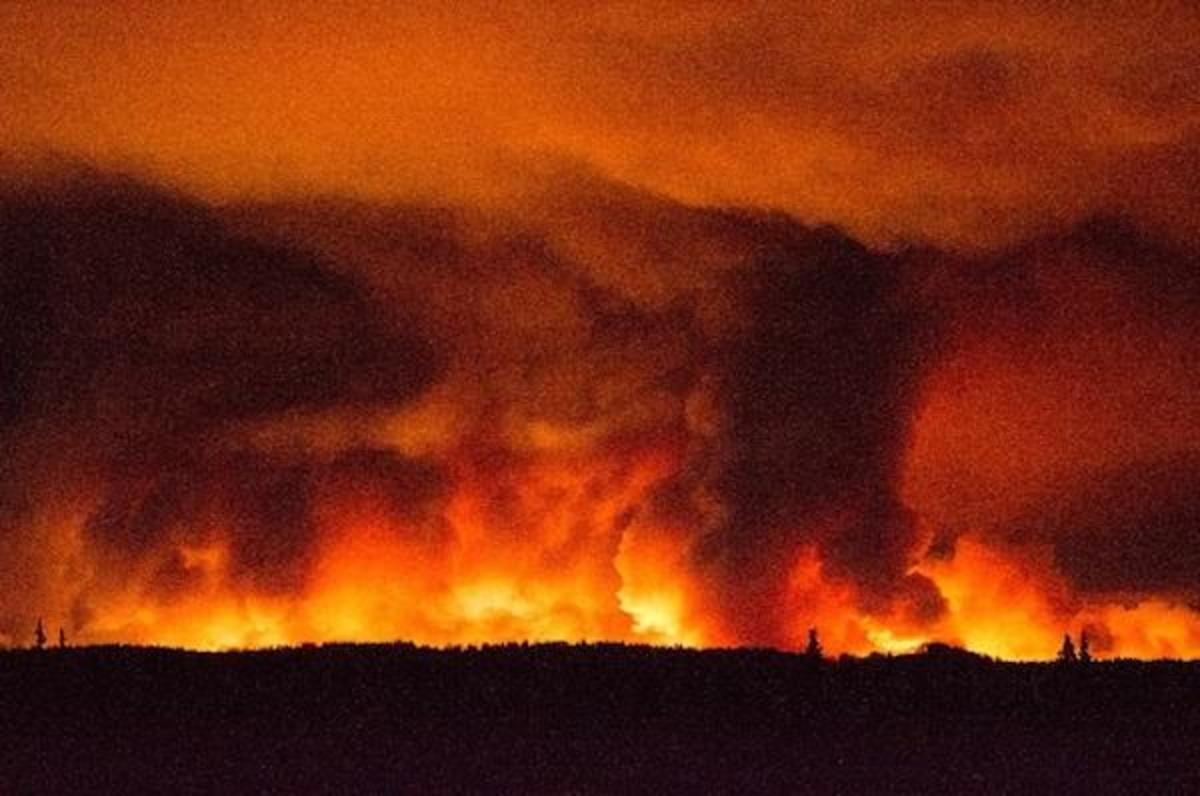 The 182,000-acre fire—an area bigger than Chicago—has scorched part of the Kenai National Wildlife Refuge.