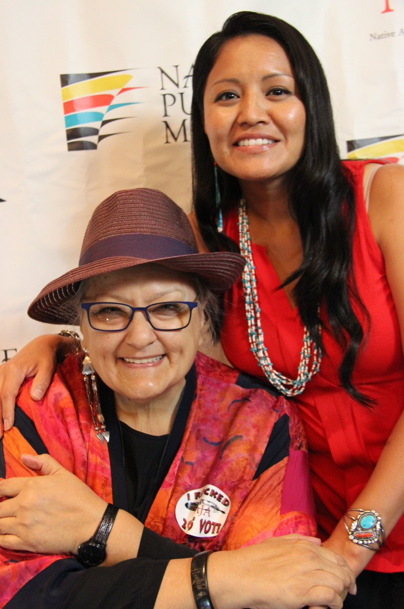 Suzan Shown Harjo and Amanda Blackhorse joined forces in the fight against the Washington NFL team franchise