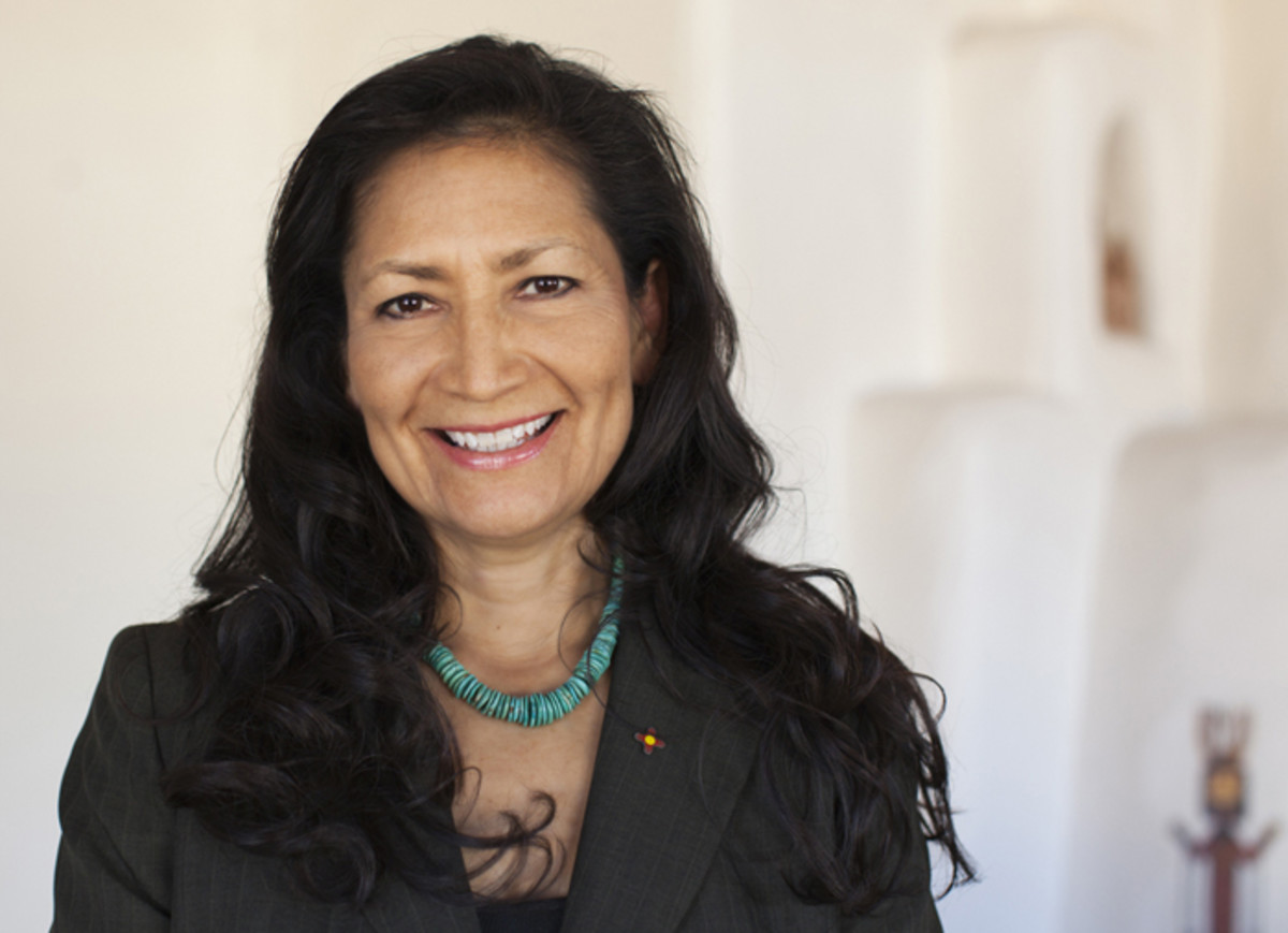Debra Haaland has filed paperwork to run for Congress from New Mexico as a Democrat. She is a member of the Laguna Pueblo and, if elected, would be the first Native American woman ever elected to Congress.