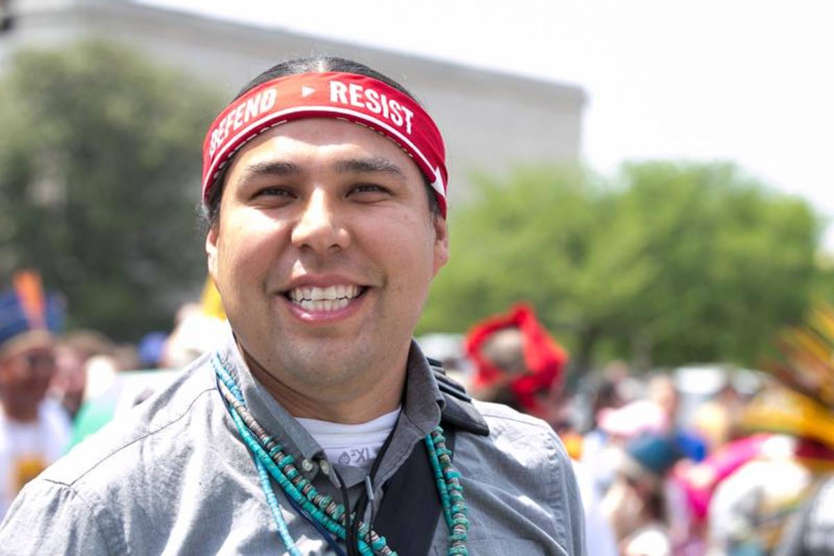 Dallas Goldtooth of the Indigenous Environmental Network said that leading off the People's Climate March in Washington DC spoke volumes about awareness of Native issues and rights, both in and outside of Indian country.