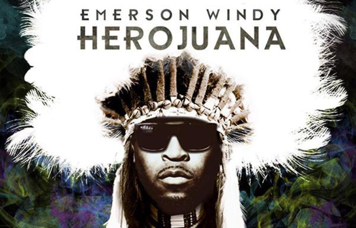 Emerson Windy on the cover of his album 'Herojuana.'