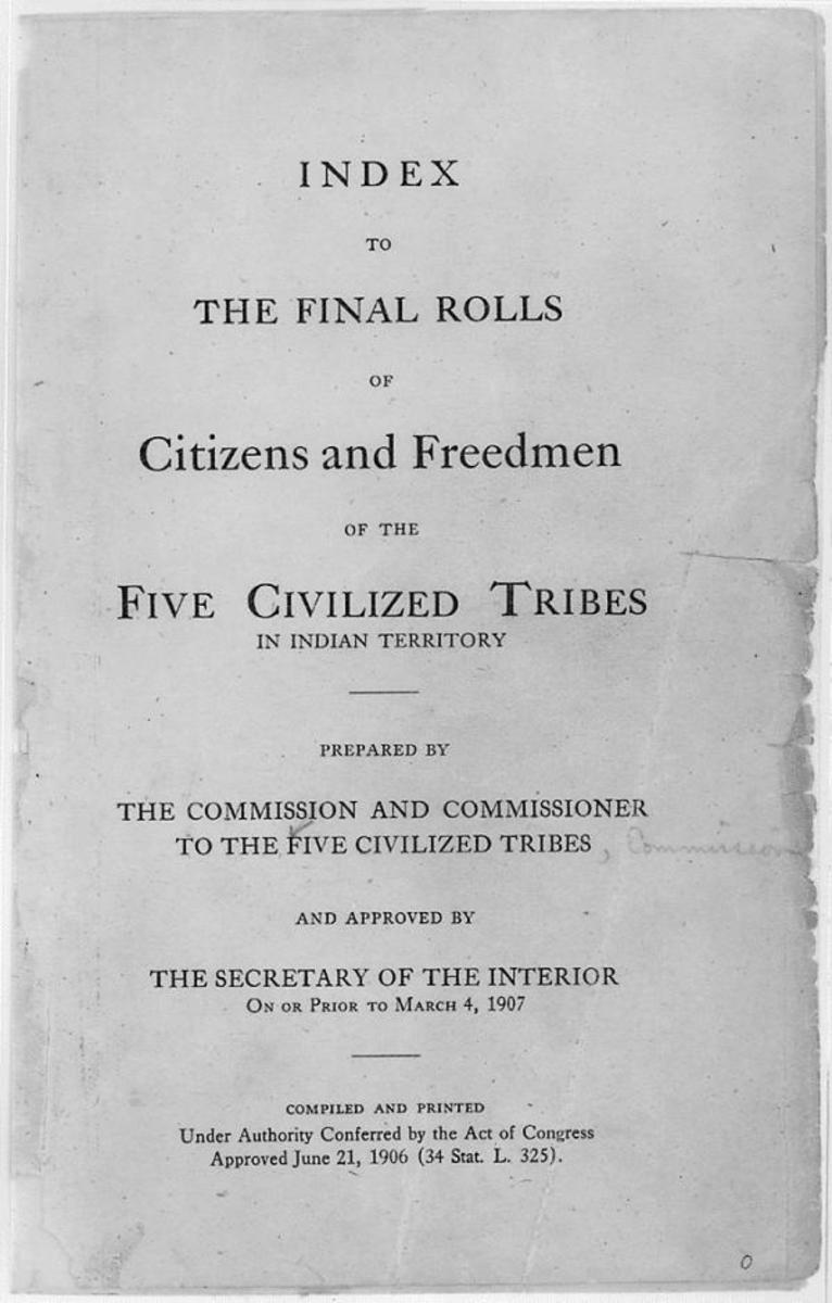 The Dawes Commission, established in 1893 to enforce the General Allotment Act of 1887 (or the Dawes Act), was charged with convincing tribes to cede their land to the United States and divide remaining land into individual allotments. The commission also required Indians to claim membership in only one tribe and register on the Dawes Rolls.
