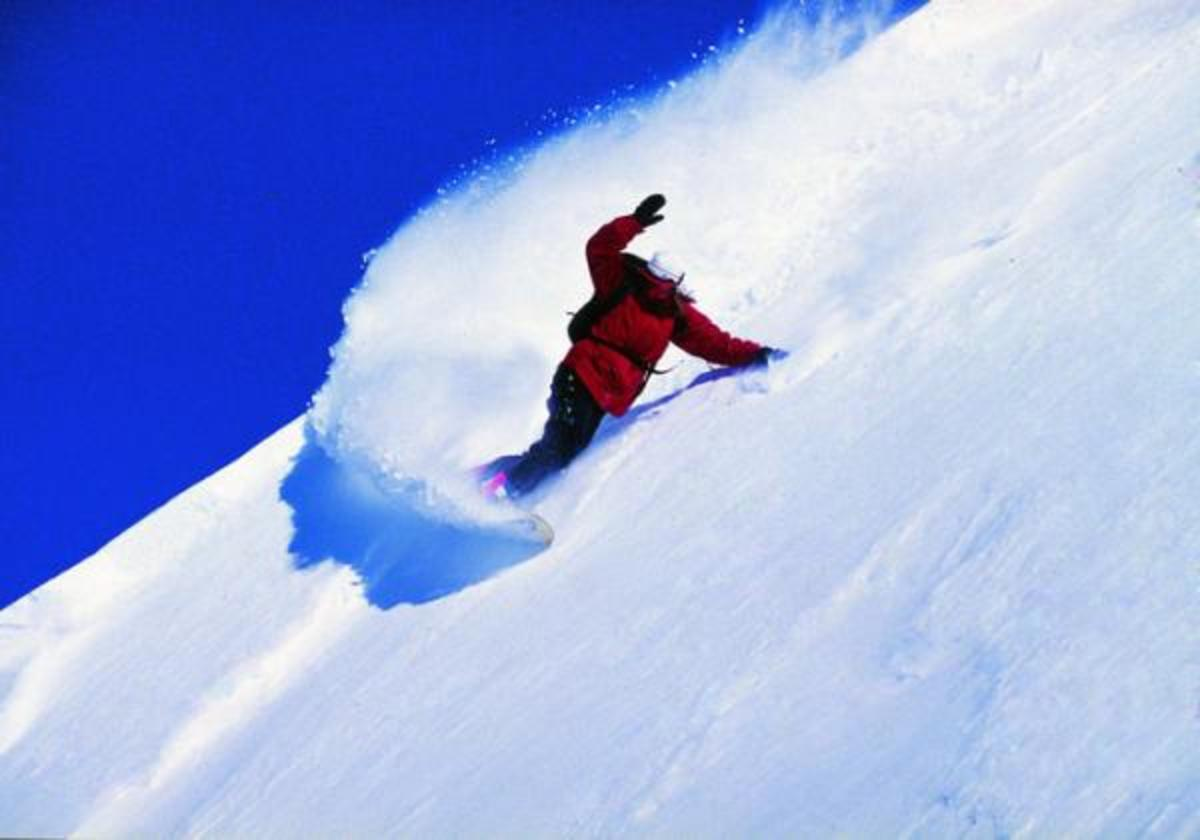 Snowboarding is a great way to have a blast, and get in shape