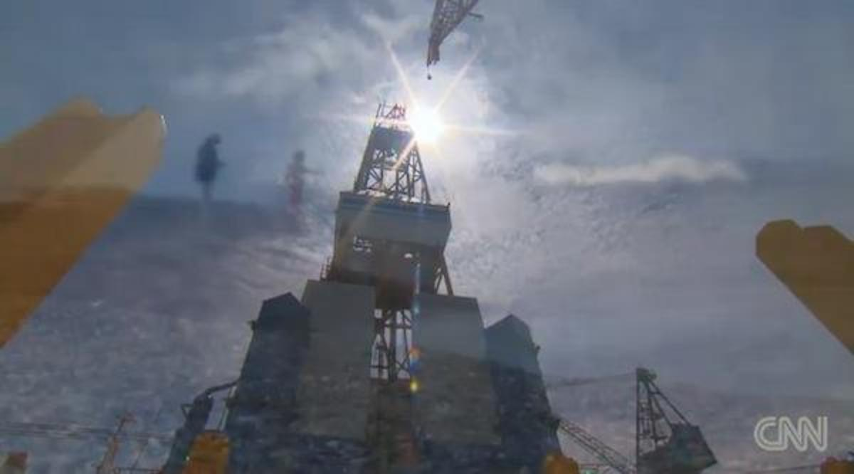 CNN examines pros and cons of Arctic drilling.