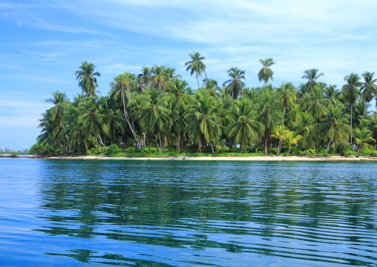 One of the 365 San Blas Islands (David Dudenhoefer)