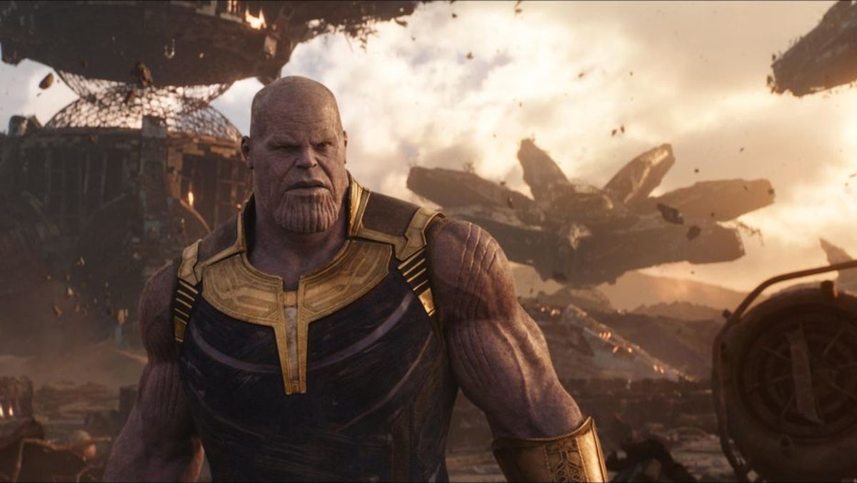 Thanos, the big purple alien, never hesitated to destroy anything in his path to capture the infinity stones that would grant him ultimate powers over all  universes.