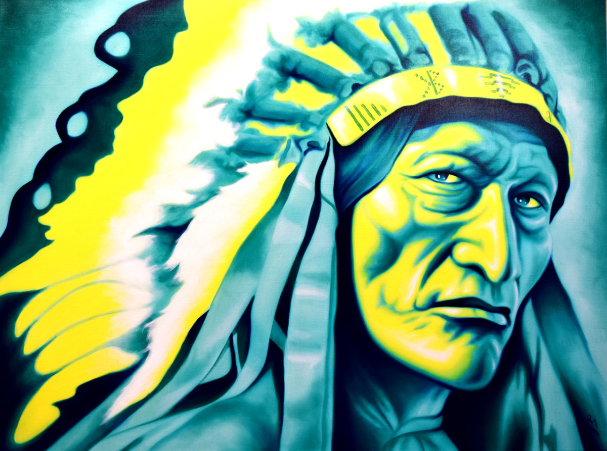 'Strong Signal' by Robert Martinez, one of the many artists who will be sharing their artistry at 'We are the SEEDS.'