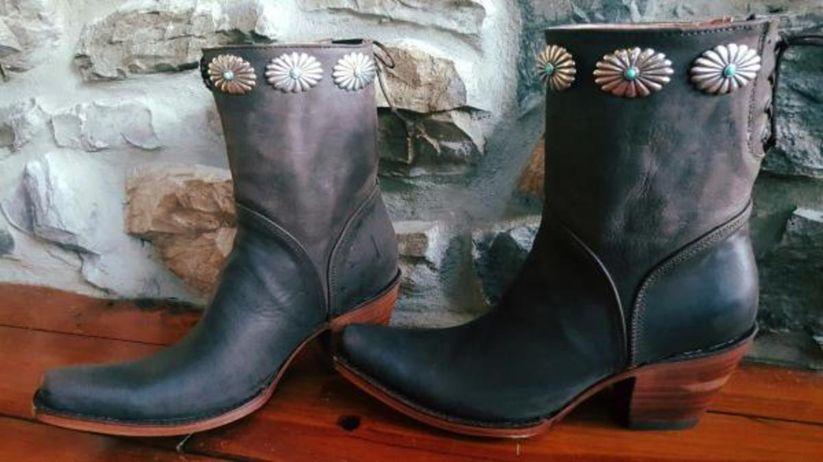 Rustic Arrow boots, avaiable at four-arrows-westernwear.com for $185.