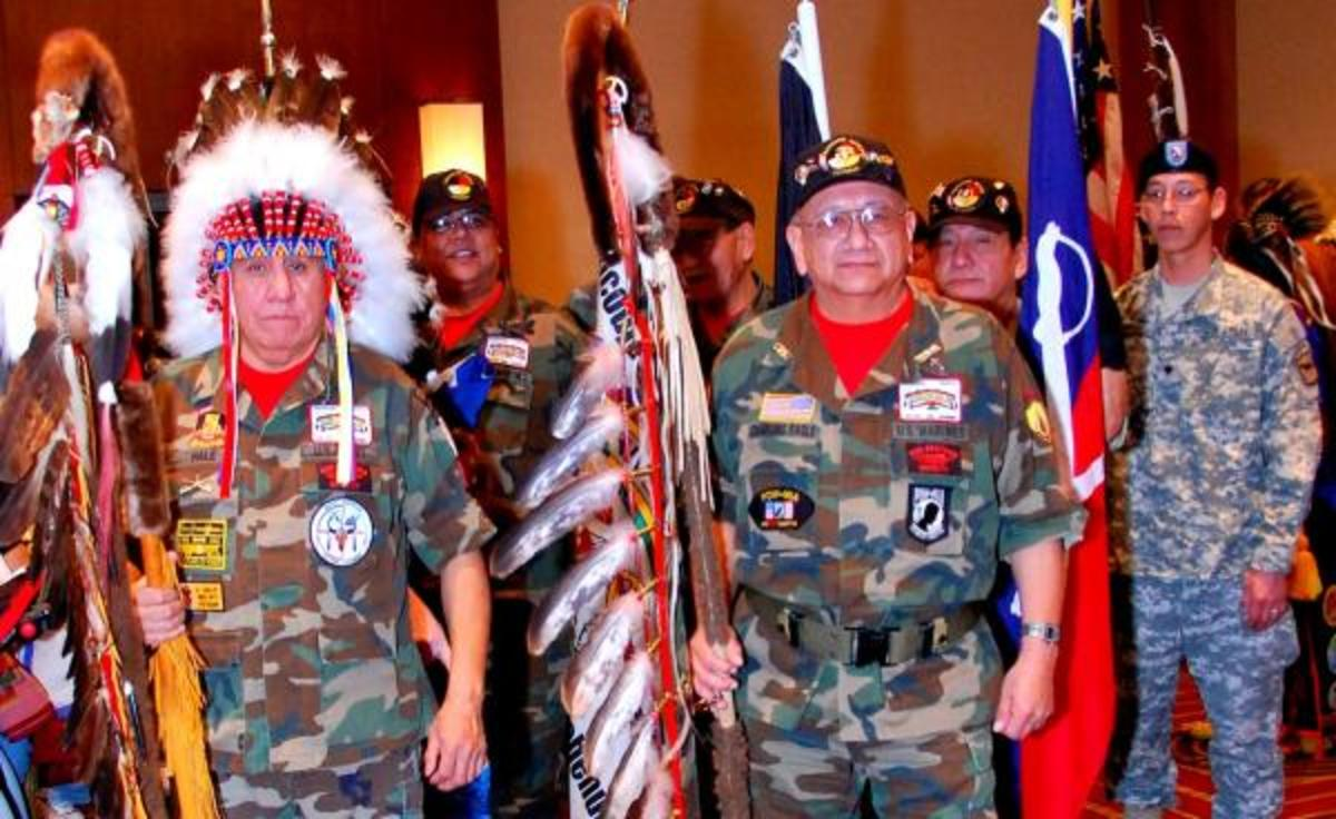 Native Americans, including American Indians, Alaska Natives and Native Hawaiians, serve at a higher rate in the U.S. Armed Forces that any other group and have served in all of the nation's wars since the Revolutionary War honorably and courageously. Twenty-eight Natives have won the Medal of Honor, the nation's highest military decoration. The Navajo, Comanche, Choctaw, Tlingit and other Native nations created codes that enemies couldn't break, turning the tide in both world wars.