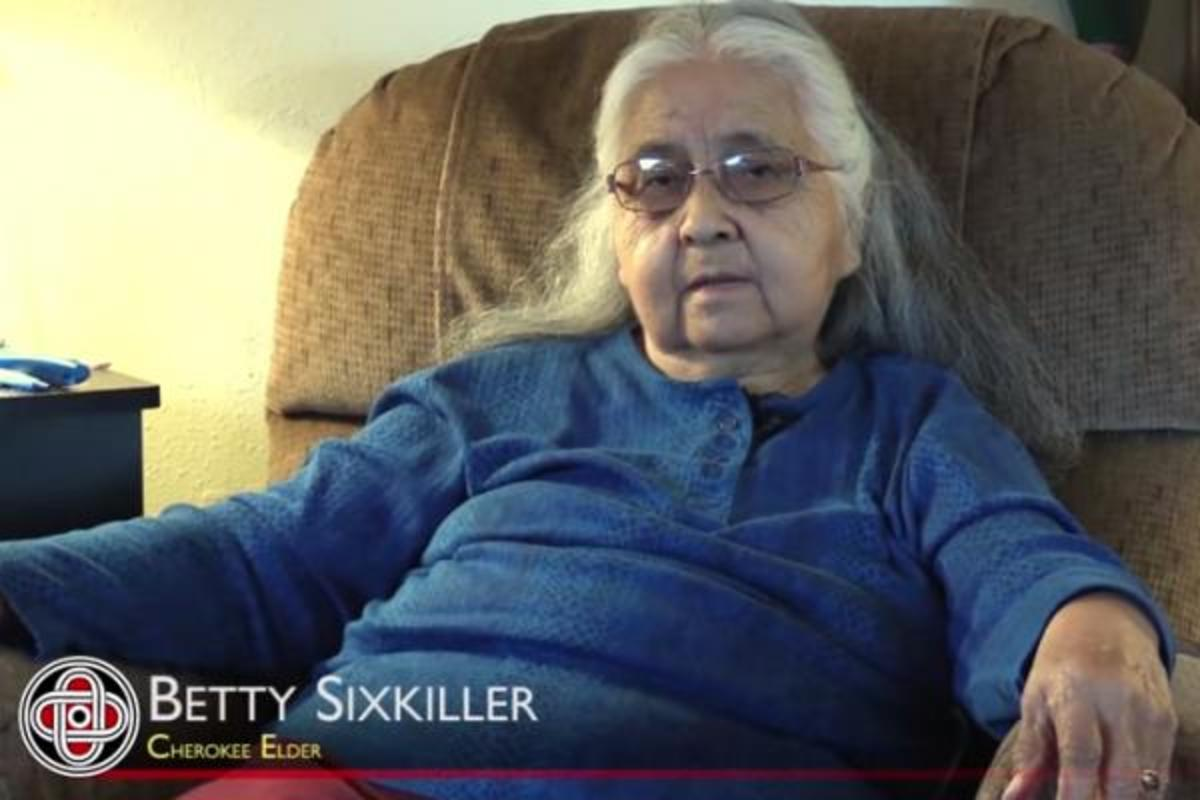 Cherokee Elder Betty Sixkiller talks about growing up in Leach, Oklahoma, the toys they had, and the medicines they used.