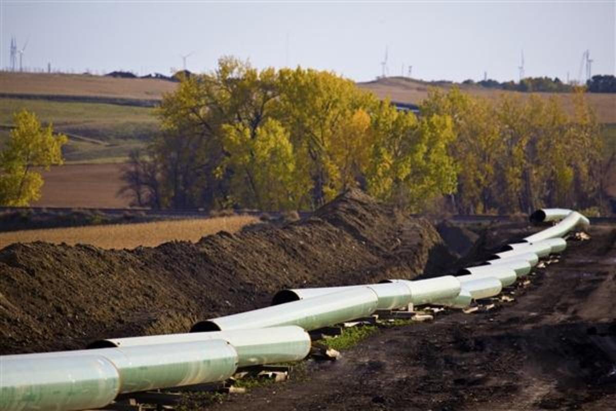 Parts of the Keystone XL pipeline not connected to the international border have already been built and are operational. The rest is being hotly debated in Congress and several states this week.