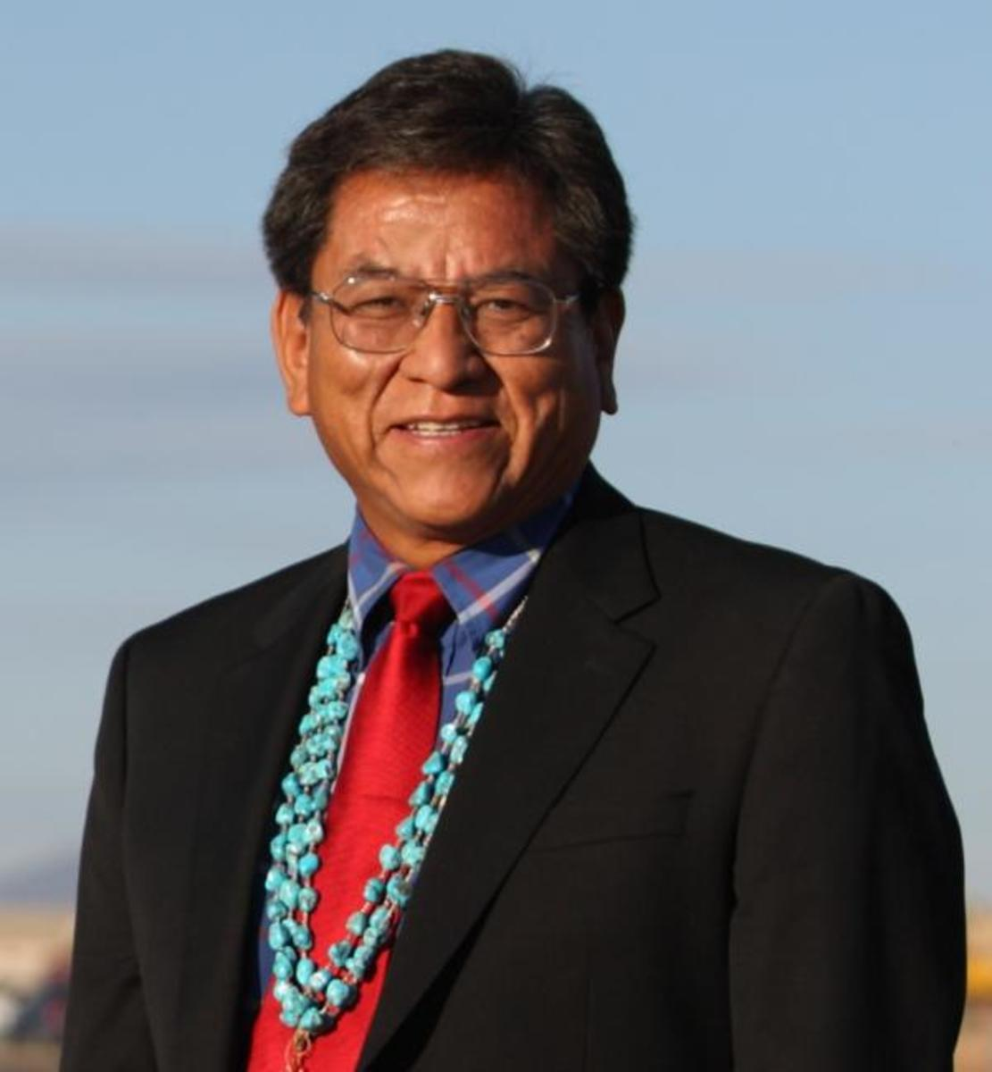 """Newly elected Navajo Nation President Russell Begaye: """"We need to unite, work together hard and move forward."""""""