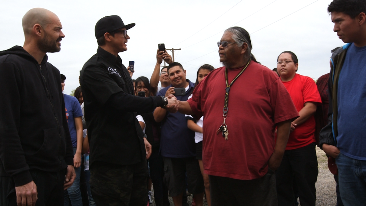 """Host Zak Bagans had a show on Navajo Skinwalkers that initially aired on June 17th: Zak Bagans hosts the latest episode of Ghost Adventures in 'Skinwalker Canyon.' Bagans says he was greeted warmly on the Navajo Nation and was invited to visit Ojo Amarillo, also known as 'Skinwalker Canyon."""""""
