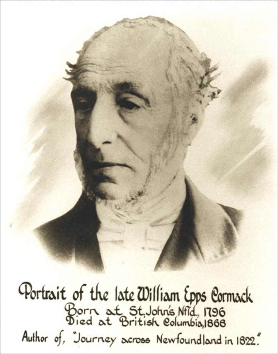 William Epps Cormack, a Scottish-Canadian explorer, who was born in St. John's Newfoundland, founded the Beothuk Institution.