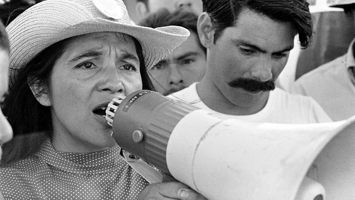 Dolores Huerta appears in 'Dolores' by Peter Bratt, an official selection of the U.S. Documentary Competition at the 2017 Sundance Film Festival. Courtesy of Sundance Institute