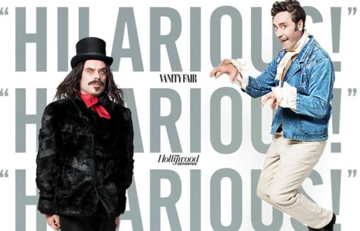"""Taika Waititi directed and starred in the hilarious Vampire Spoof """"What We Do in the Shadows."""""""