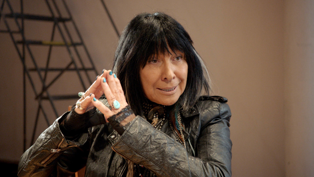 Buffy Sainte-Marie appears in 'RUMBLE: The Indians Who Rocked The World' by Catherine Bainbridge and Alfonso Maiorana, an official selection of the World Cinema Documentary Competition at the 2017 Sundance Film Festival. Courtesy of Sundance Institute.