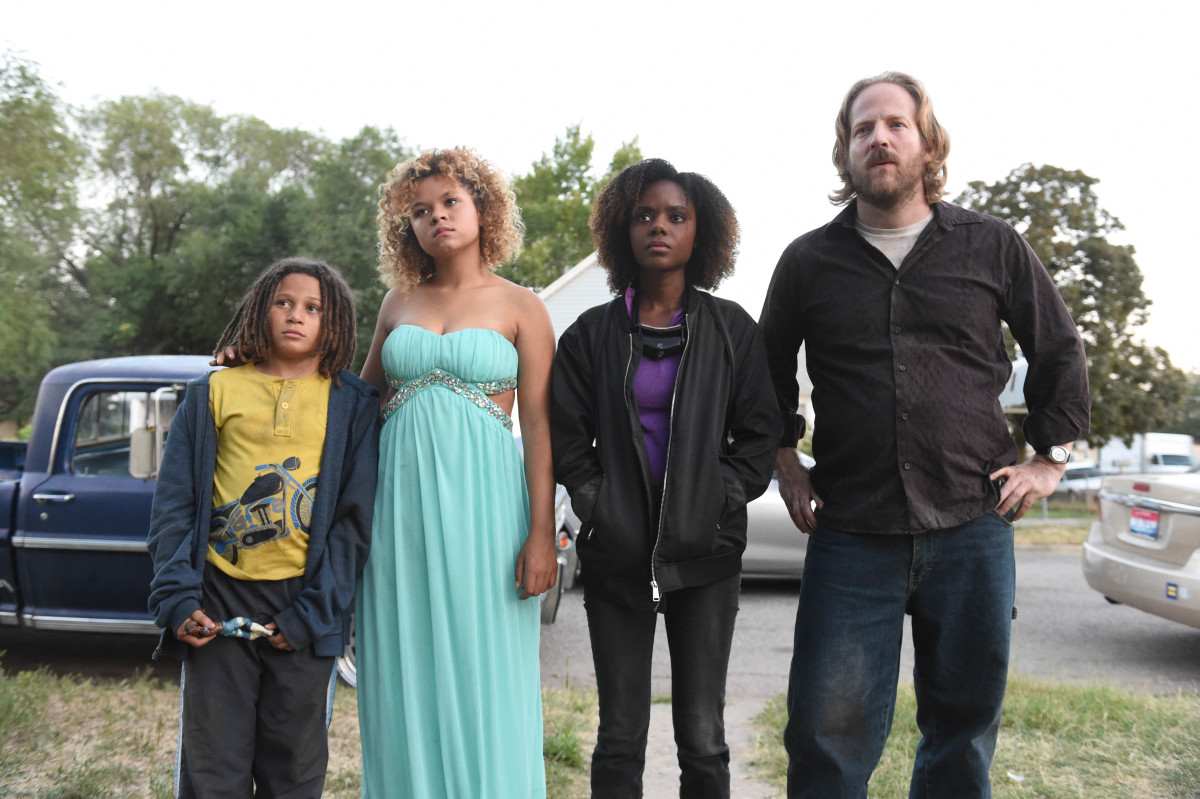 Lance Grey, Rachel Crow, Ashleigh Murray and David Sullivan appear in 'Deidra & Laney Rob a Train' by Sydney Freeland, an official selection of the NEXT program at the 2017 Sundance Film Festival. Courtesy of Sundance Institute - photo by Fred Hayes.