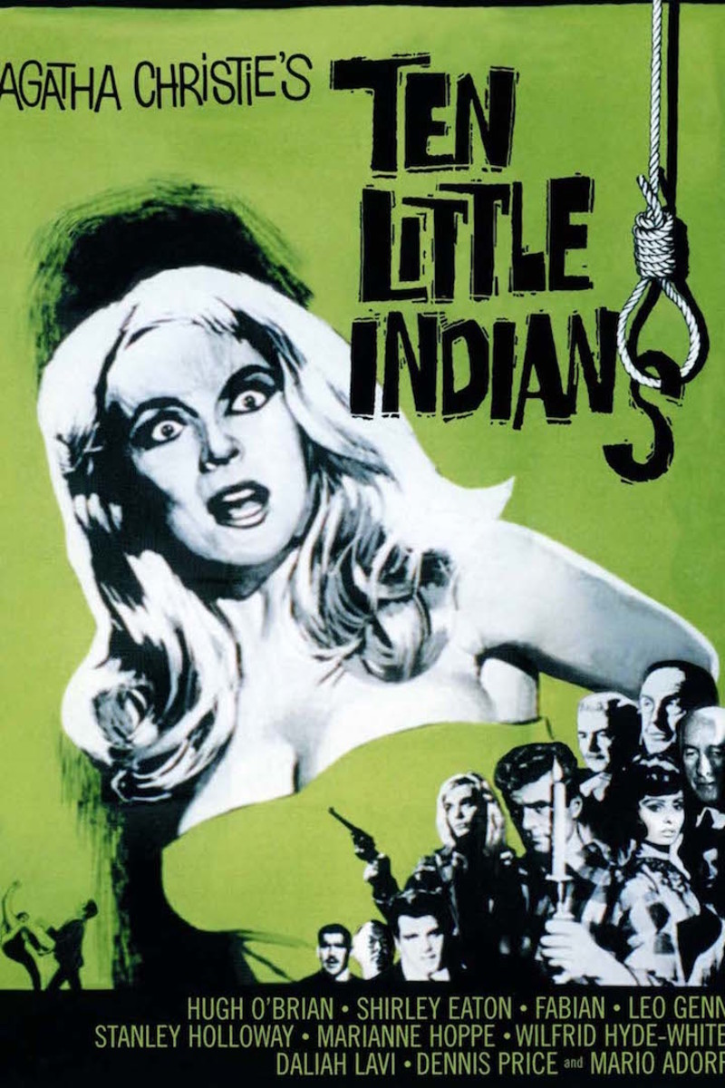 Ten Little Indians, book cover