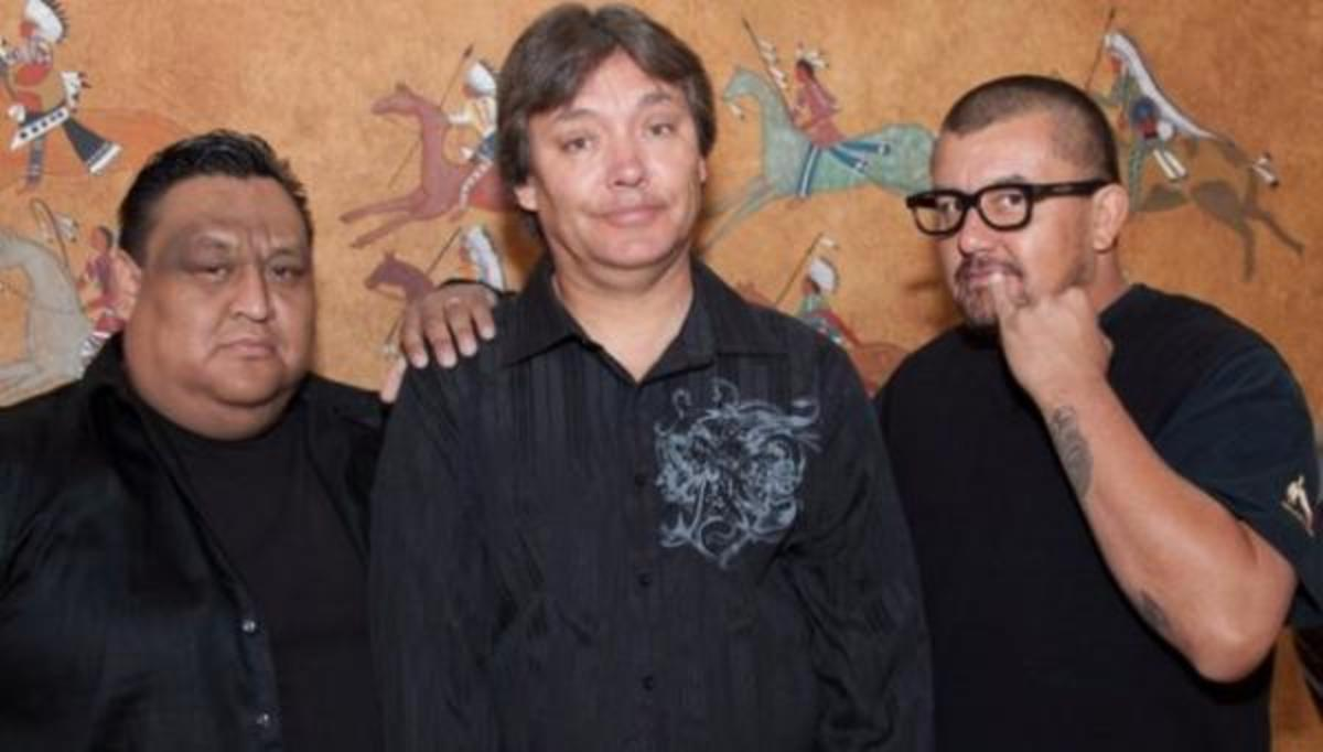 left to right: Howie Miller, Marc Yaffee, and Vaughn Eaglebear